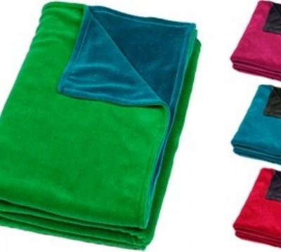 Mundo Melocoton velour baby blankets