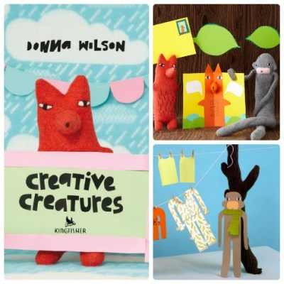 Donna Wilson's Creative Creatures activity book