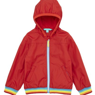 Hot on the high street: Little Bird at Mothercare red rain mac