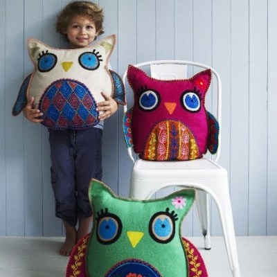 HOT: Hedwig Owl Cushions