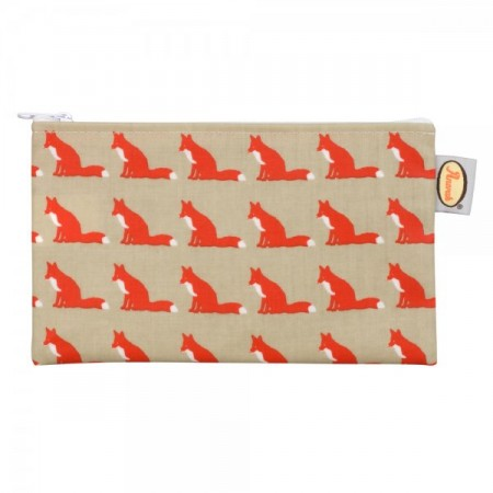 Anorak fox pencil case