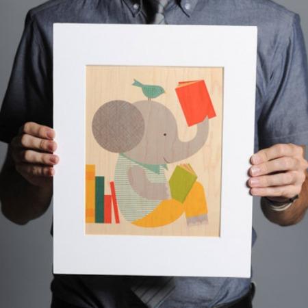 Sevenly Elephant Print