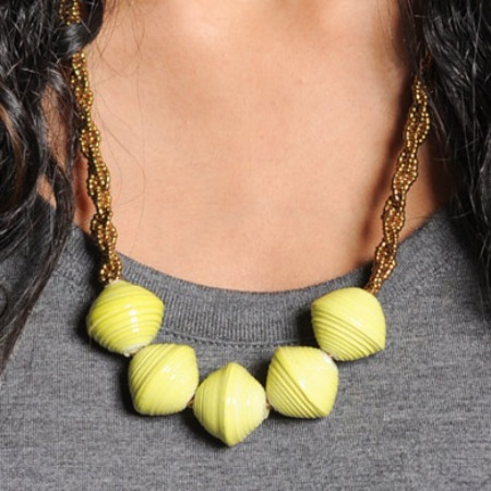 Sevenly Yellow Necklace