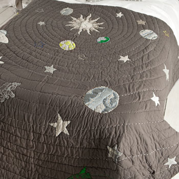 Hot on the high street: Zara Home Kids space quilt