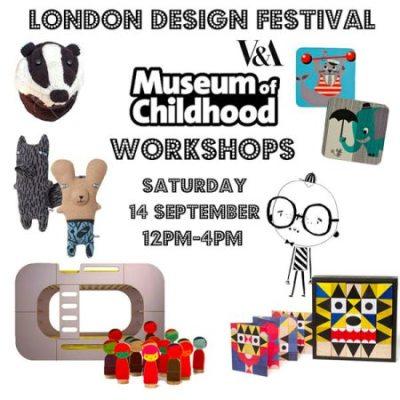 London Design Festival workshop at V&A Museum of Childhood + Molly-Meg popup shop