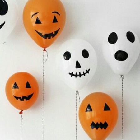 Halloween Balloon  - Source Unknown
