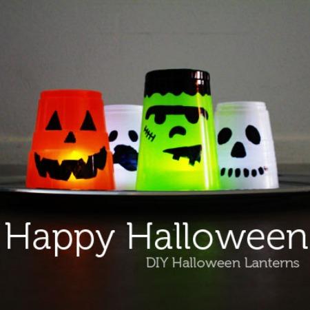 DIY Halloween Lanterns from Sh1ft