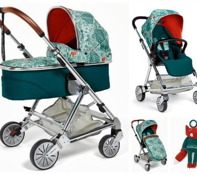 Donna Wilson for M&P pushchair