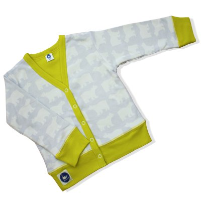 Mengsel Design polar bear cardigan