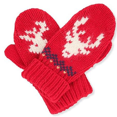 Ralph Lauren reindeer mittens