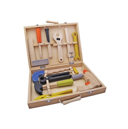 New Classic Toys wooden tool set