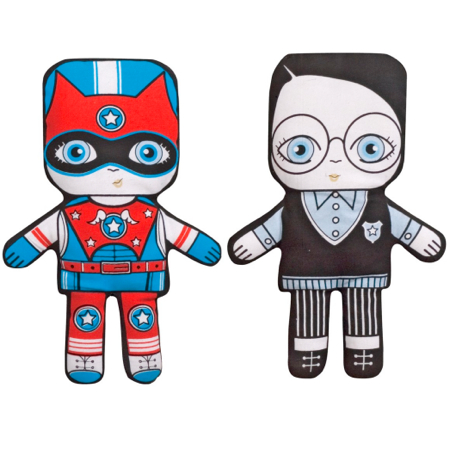 Villa Carton Spencer and Super Spencer flip doll