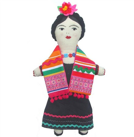Sewgirl Mexican doll sewing kit