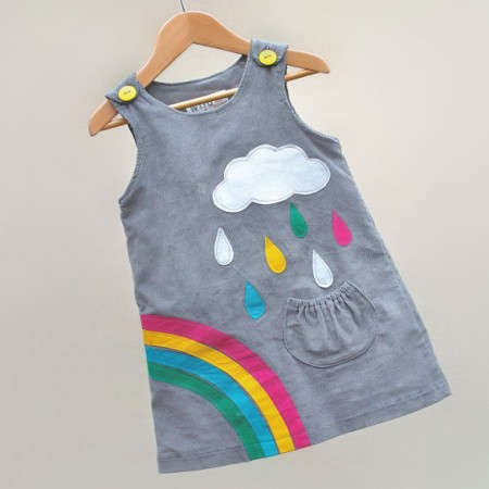 Wild Things Funky Little Dresses pinafore