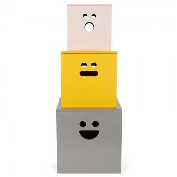 Ferm Living Face boxes