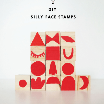 Make Your Own: Silly Face Stamps
