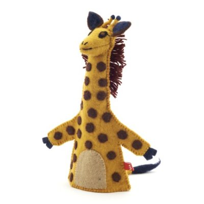Sew Heart Felt Giraffe Hand Puppet for the V&A