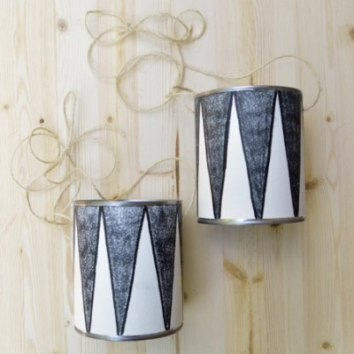 Make your own: tin can stilts