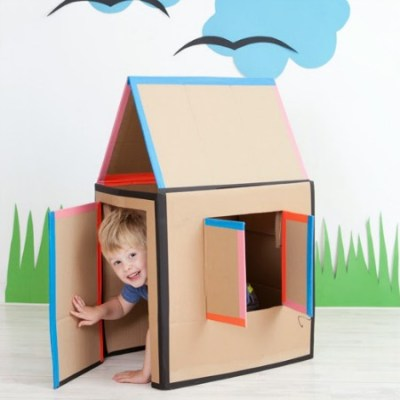 Make your own: Cardboard house