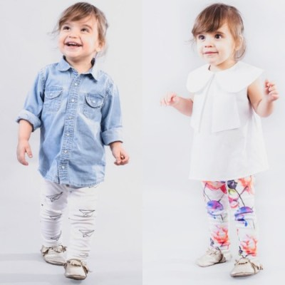 Diapers & Milk leggings launch exclusively at Scout & Co