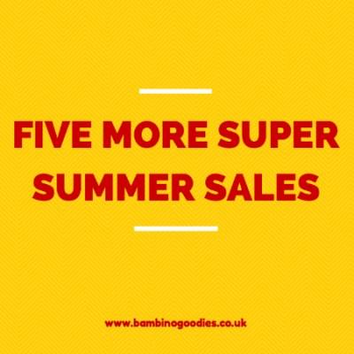 Five more super summer sales