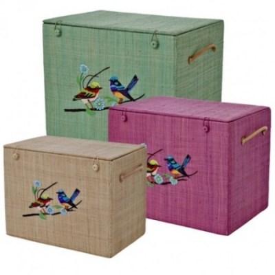 Rice DK bird baskets