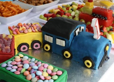 Inspiration: Finn's train 1st Birthday party