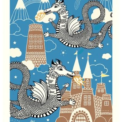 Charlotta Sandberg Dragon Sky poster print