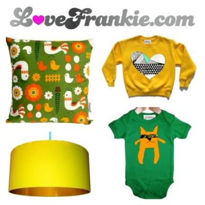Giveaway: Win £150 to spend at Love Frankie!