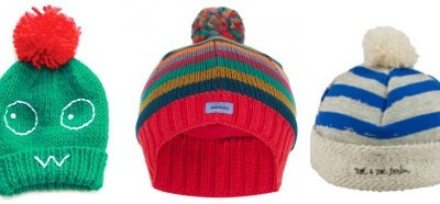 Winter warmers: cool hats for kids