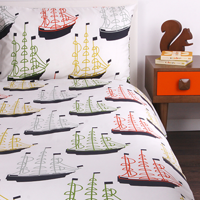 Covetable: Orla Kiely Around the World children's bedding