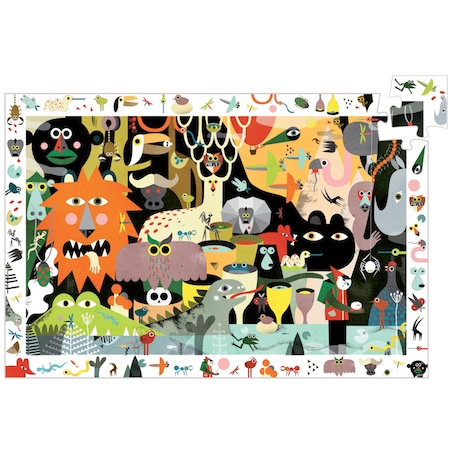 Djeco Observation safari animals 200-piece jigsaw