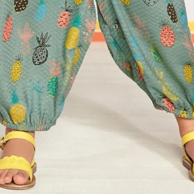 Hot on the high street: Next pineapple playsuit