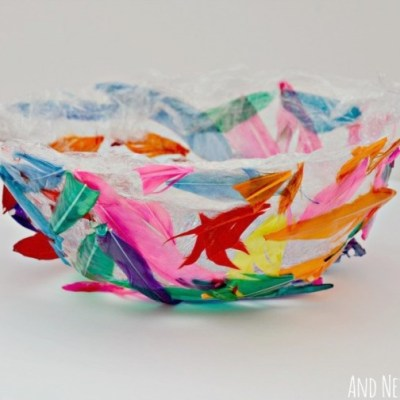Make Your Own: Feather Bowl