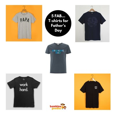 Five Fab… Tees for Father's Day