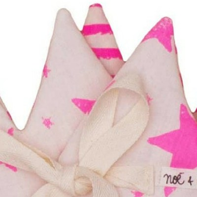 Sale Spot: Noé & Zoë Neon Pink Crown Half Price