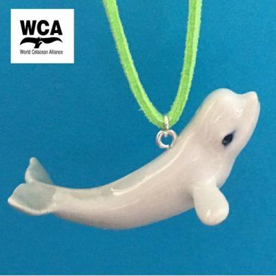 Beluga Whale Pendant