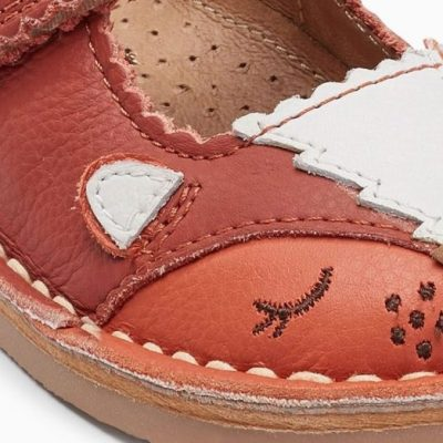 Hot on the high street: Next fox shoes
