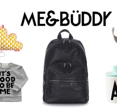 Me & Buddy giveaway (including a Tiba + Marl bag)