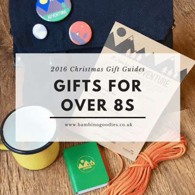 Christmas Gift Guide 2016: Over 8s