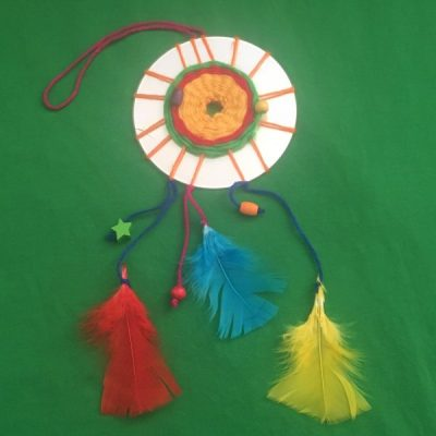 Make Your Own: CD Dreamcatcher