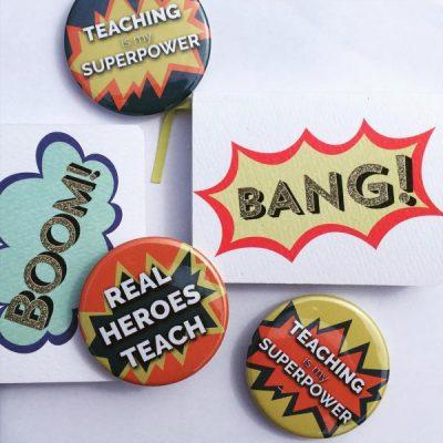 Superhero teacher gifts