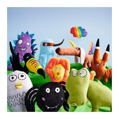 Ikea Sagoskatt toys for Save the Children