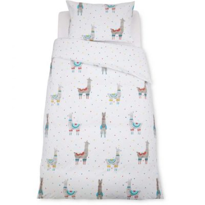 Hot on the high street: Aldi llama bedding