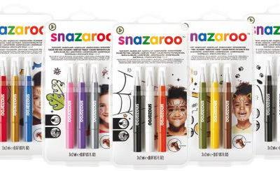 Easy Costume Win: Snazaroo Brush Pens