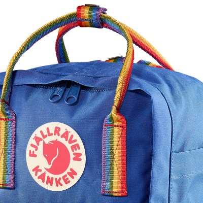 Fjallraven Kanken rainbow mini