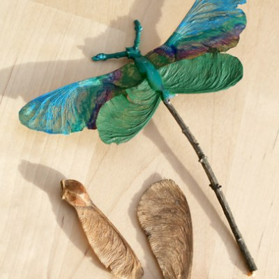Autumn Craft Idea: Dragonflies