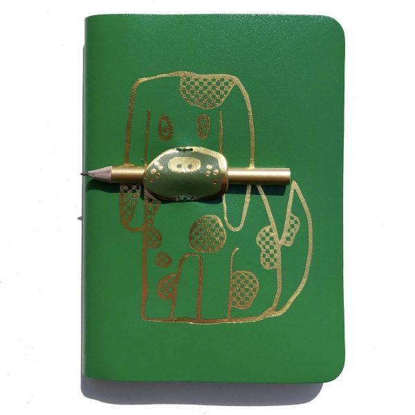 Fetch Leather Journal, £9.50, Shop BG.