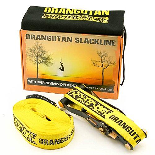 Slackline, £24.99, Orangutan Sports.