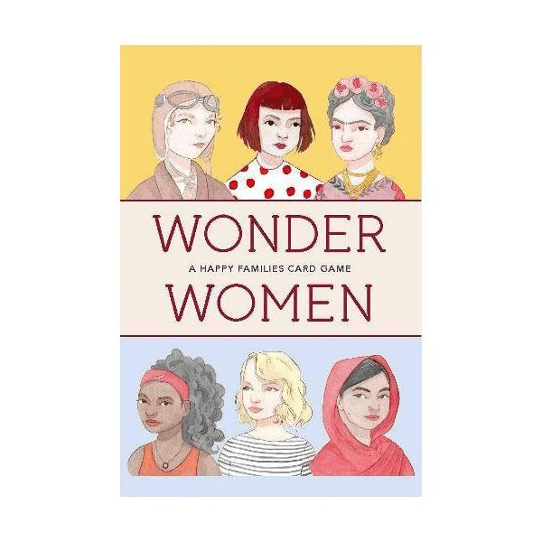 Wonder Women: A Happy Families Card Game, £9.99, Baltic.